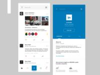 Linkedin Redesign - UX Concept