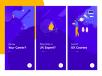 Onboarding - Illustrations UX