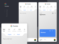 Google Translate - Redesign