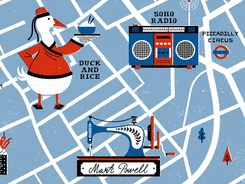 Soho Map Shot 1 01 soho london mapdesign cartography maps illustration