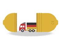 Stolen Kinder Lorry