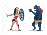 Wonder Woman Slams Trolls