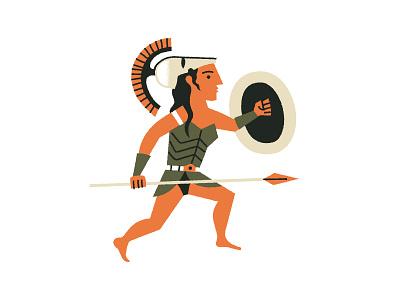 Hippolyta legends myths amazons hippolyta illustration
