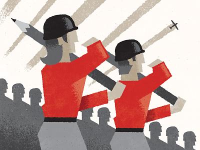 Design Propaganda wip design propaganda illustration