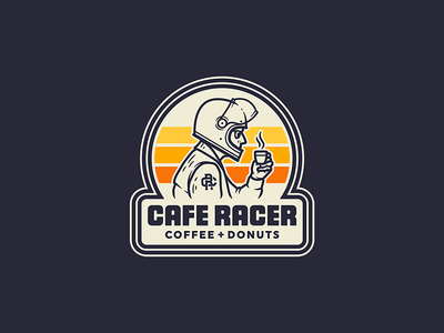 Cafe Racer · Logo