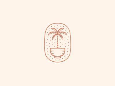Palm Tree Bowl