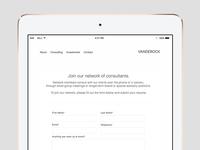 Vanderock web