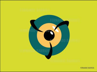 Isotype Noctambulo noctambulo eye identity isotype isotipo vector illustrator design