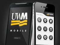 UWM Mobile app promo material