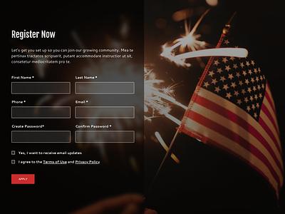 Form Concept form input ui web design