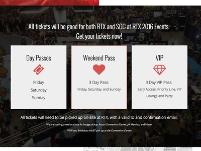 RTX Event tickets 3-up css