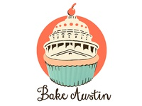 Cupcake Bakery Sticker