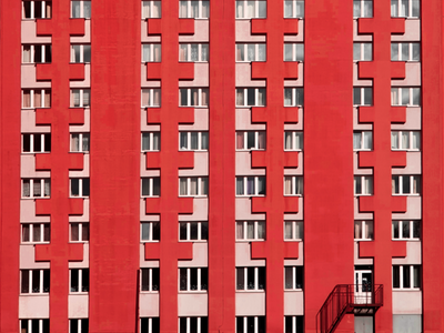 Facades of Minsk shotoniphone withgalaxy mobilephotography mobile minimal minimalism belarus minsk photography