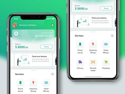 Green Card Banking app e-wallet ewallet wallet vietnam hcmc green app bank