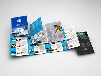 Hakuba Hotel Group Brochure australia japan print layout brochure