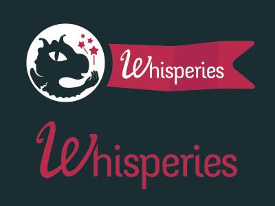 Whisperies logo tales black logo publishing