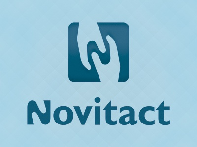 Another version of Novitact logo