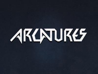 Arcatures typographic logo