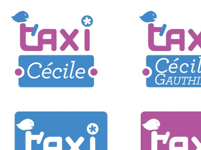 WIP logo for a taxi