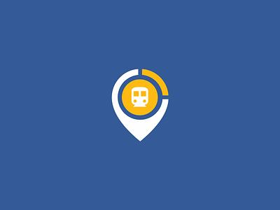 Destino - Gautrain Traveling App Logo adobexd app icon logo ui mobile