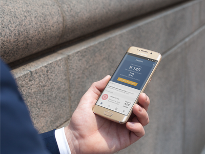 Destino - Gautrain Traveling App Concept ux ui product mobile interface design app adobexd