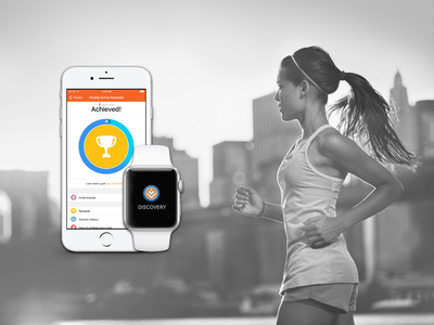 Discovery Vitality Active Rewards design product ux ui app mobile