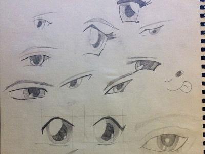 Sketching of eyes pencil art pencil eye doodle art art doodle sketching
