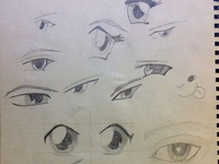 Sketching of eyes