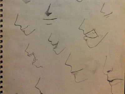 Sketching Some Mouths Today Part 2