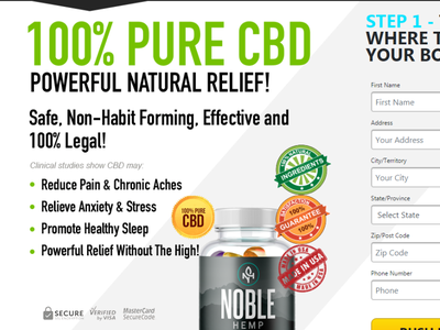 Noble Hemp Gummies Instant Relief and Recovery healthcare health