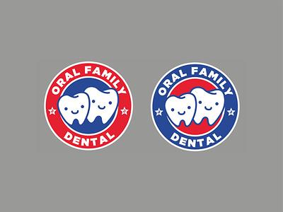 Oral Family Dental logodesign