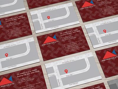 Anh Khai CO. LTD's  business card card business