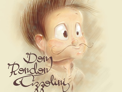 Dom Rondon Azzolini ps my son dom illustration jonatas azzolini