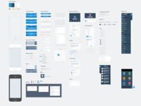 Salesforce1 Mobile Sketch Wireframe Kit