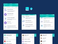 Salesforce wave mobile system