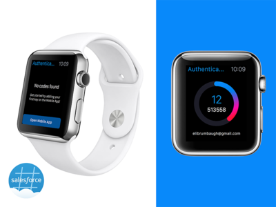 Salesforce Authenticator for Apple Watch
