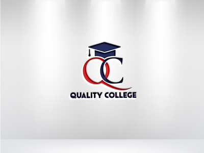 Quality College Logo logo maker logo creation logo design school logo college logo education logo company logo minimalist logo illustration illustrator flat vector design logo business logo branding