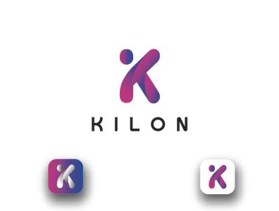 K Letter Logo ux illustration ui animation 3d logo motion graphics graphic design illustrator flat vector design business logo branding