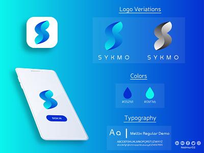 S letter Logo Design & Branding motion graphics graphic design 3d animation ui ux illustration illustrator flat vector logo design business logo branding