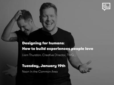 Humans designing for humans talks internal