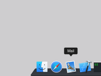 Custom Dock in Yosemite dock mac