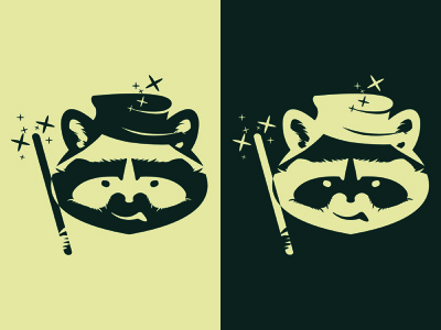 raccoon raccoon vector mascot illustration logo logodesign