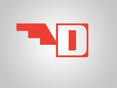 D Mark brandmark logo pueblo new mexico typography