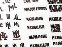 Major League: Logotype Exploration