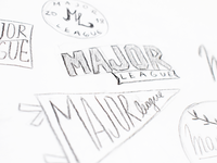 Major League: Illustrations Sketches