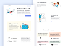 inFlight: Home Page Design