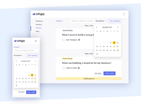 inFlight: Mentors' Schedule