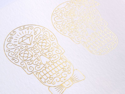 Calaveras - Mexican Skull vector illustration