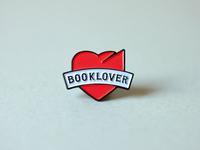 Book Design Blog logo pin