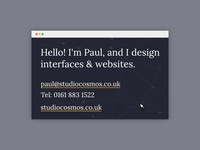 Interface Business Cards